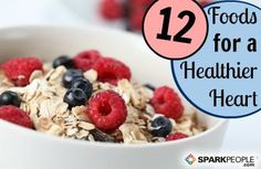 Love your #heart and it will love you back! These 12 #superfoods are great building blocks for a heart-smart #diet.| via @SparkPeople #nutrition #health #AmericanHeartMonth sunday breakfast, breakfast recip, weight loss plans, diet, photo galleri, healthy breakfasts, healthi, healthy recipes, healthy foods