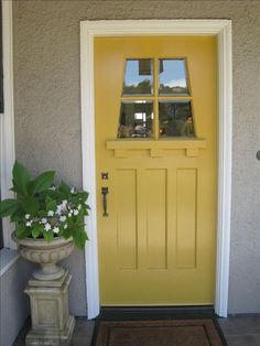 @Emma Gay this is a great color for your front door! xo