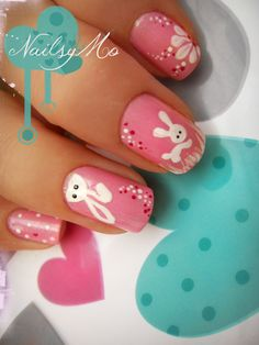 Nail Art for Easter...
