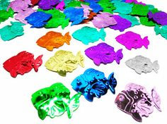 Confetti Fish Assorted Colours - Party Supplies, Ideas, Accessories, Decorations, Games - PartyNet