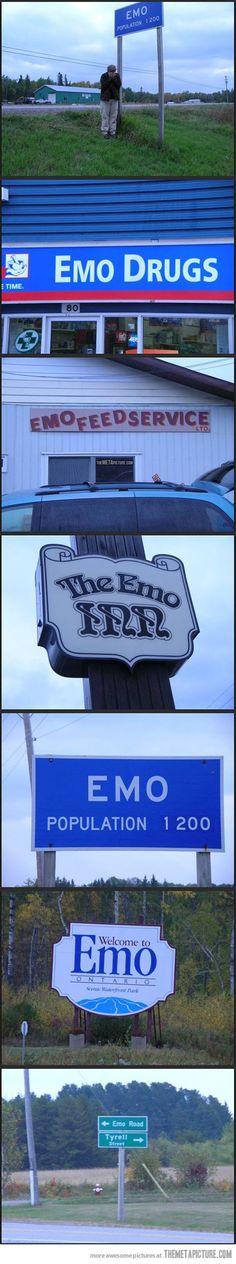 Emo City… hahaha