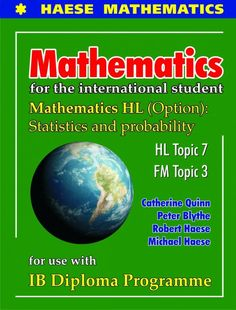 Each Topic has undergone a thorough review, taking into consideration syllabus changes and teacher feedback. The new format allows for additional content/material to be included where necessary, creating a comprehensive resource for students studying Mathematics HL and Further Mathematics HL. ISBN: 9781921972317