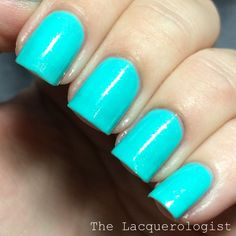 Mint-al Precision by Girly Bits  The Lacquerologist: Girly Bits Cosmetics What Really Happened In Vegas & New Blogger Collabs: Swatches & Review!