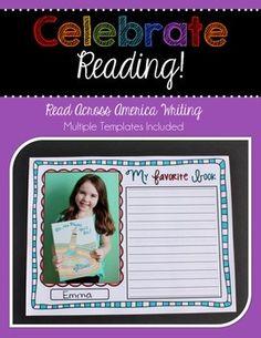 Celebrate Reading { Read Across America Writing } freeee