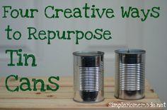 Repurposing cans