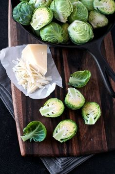 Baked Brussels Sprouts Recipe with Parmesan Cheese