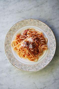 Italian Sausage Spaghetti Recipe   Simply Recipes