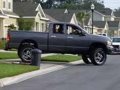 lifted dodge ram