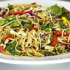Asian Noodle Salad | Best Recipes Try