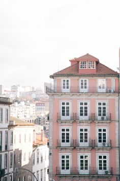 Pink Apartments in Porto Portugal