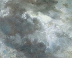 cloud study, john constable