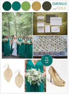 Emerald Wedding Ideas | http://www.thebridelink.com/blog/2013/02/10/wedding-color-emerald/
