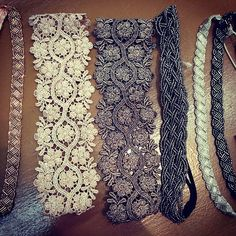 Delicate and intricate headbands