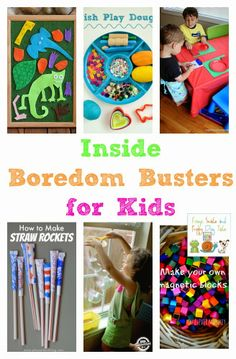 Inside Boredom Busters for Kids featured on the kids co-op by FSPDT