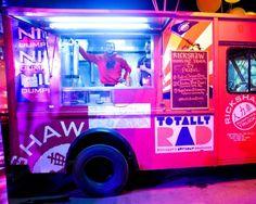 Dumpling truck at the @Prabal Gurung x @Target launch party