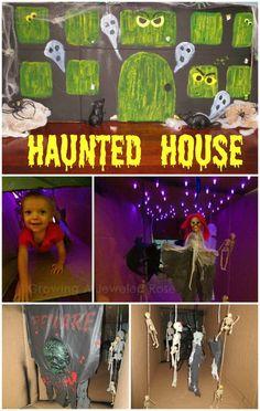 Haunted house Halloween fun
