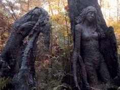 *Bruno Torfs...sculpture after the fire
