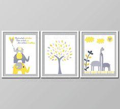 baby elephant nursery decor - Google Search