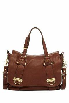 convert shoulder, boutiques, hautelook, cloth, accessori, brown bags, leather bags, brown purs, bag boutiqu