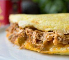 Chicken Enchilada Omele
