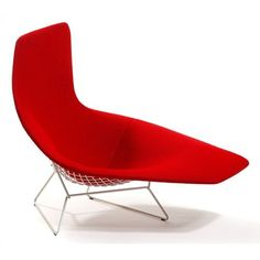 Knoll ® Bertoia Asymmetric Chaise with Full Cover