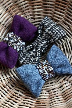 Bow Brooches | Flickr - Photo Sharing!