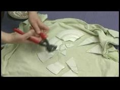 Plates or pottery can be used to make mosaic tiles if you break them up. Learn how to break plates for a mosaic tiled hand mirror in this free crafting video.