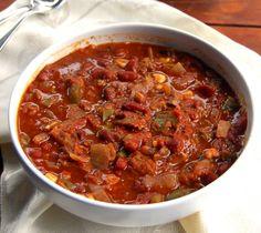 Fat-free crock pot chili crock pot, pot chili, free slow, food, chilis, cooker chili, chili recipes, healthy recipes, crockpot meal