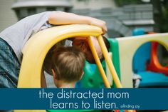 Why taking moments to slow down, look the kids in the eyes, and really listen matter. @Rachel