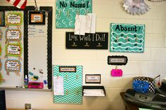 10 Best Organizing Tips for the Classroom- MIA- Missing and Incomplete Assignment Wall