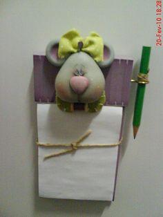 ratinha porta recado