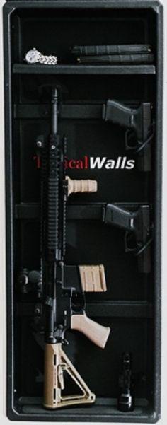 Gun Storage On Pinterest Gun Storage Hidden Storage And