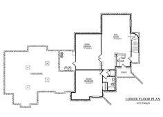Shore side plan - basement