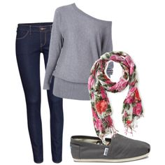 """""""Casual Fall Outfit"""" by sierramckskye on Polyvore"""