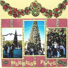 The Merriest Place on Earth - Disney Challenge #11 - Two Peas in a Bucket