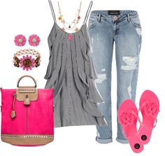 """Spring Flowers"" by debbie-probst on Polyvore"