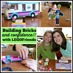 Building LEGOFriends with my girl - a great bonding and confidence-building exercise. #LEGOFriendsCGC #CleverGirls