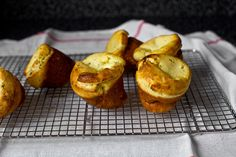 buttermilk popovers with corn and chives by smitten, via Flickr