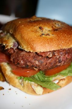 Beet Burgers (vegan)