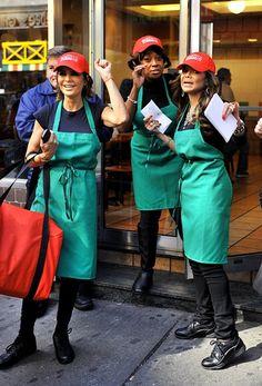 Celebrity Apprentice 4 cast sells pizza