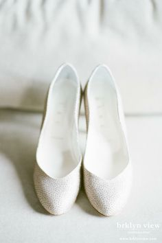 Central Park Elopement Photos // BHLDN Shoes