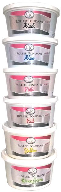 CK Fondant Soft, smooth, flexible fondant.