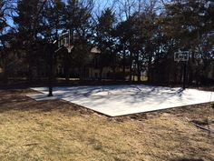 Residential basketball courts can become the backbone of time spent together as a family. Remember that first free throw you made as a kid? Concrete sports courts, of any kind, including basketball, tennis, shuffleboard or ice hockey are wonderful additions to a home and provide durability with little maintenance.