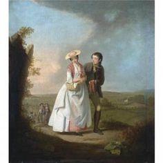 Edward Penny - The Return From The Fair  1765
