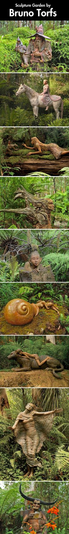 Carved in a forest...