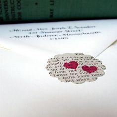 creative ways to seal an envelope