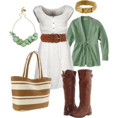 """jade"" created by #htotheb, #polyvore #fashion #style #Woolrich #Quiksilver #Frye Forever 21 #Magid #green #brown #camel #white"