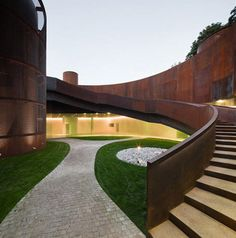 Interactive Museum of History of Lugo, Spain by Nieto Sobejano Arquitectos