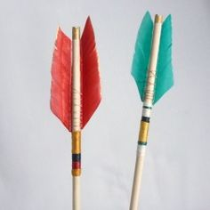 How to make a feather arrow
