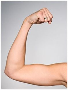 4 best home exercises for flabby arms... No weights needed!